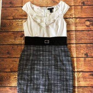 WHBM White House Black Market Dress Career Sz 10